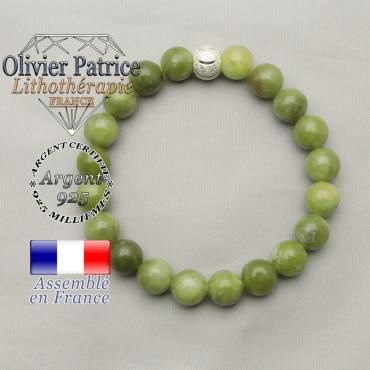 Bracelet sourire femme en jade néphrite canada pour réussir dans les affaires