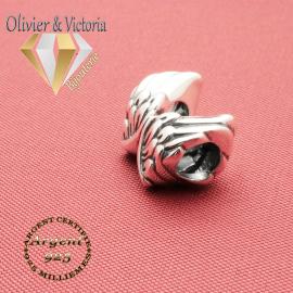 Charms ailes d'ange pour bracelet en argent 925