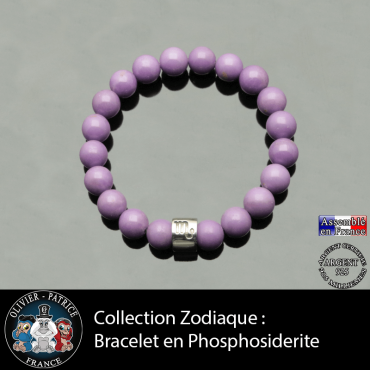 Bracelet phosphosidérite et ...