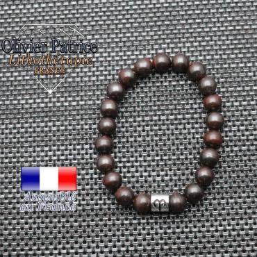 bracelet oeil de fer et son signe astrologique en alliage