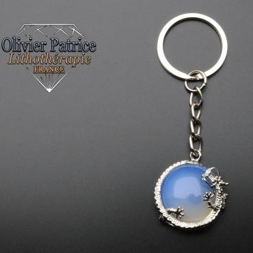Porte-clés dragon opale