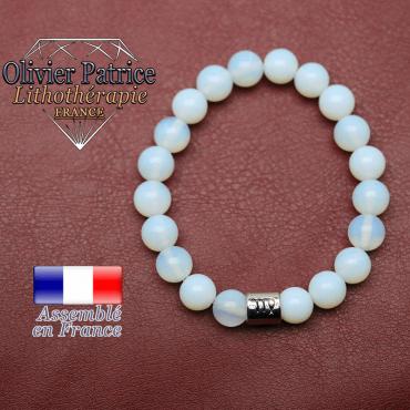 Bracelet opale et son signe astrologique en alliage
