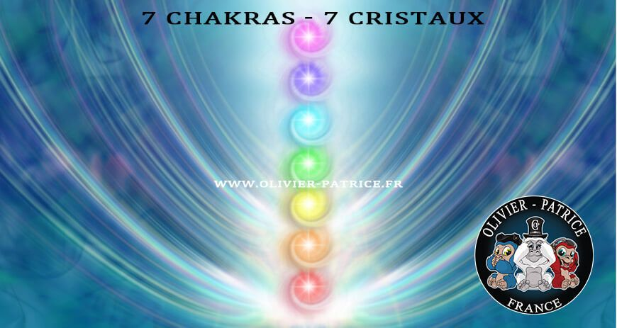 Les 7 chakras et les 7 pierres naturelles liées